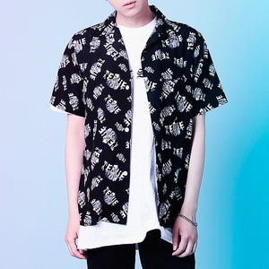 VAN GOGH 1/2 SHIRTS (BLACK)