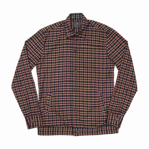 Lax Lux Checked Shirt Jacket