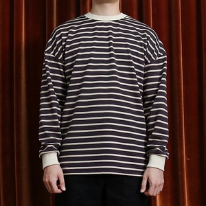 OVERSIZE STRIPE MTM - BROWN