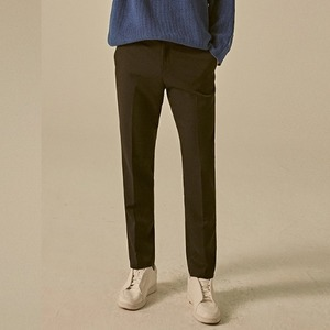 MINIMAL STRAIGHT SLACKS_BLACK
