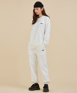 UMM LATITUDE JOGGER SET / WHITE