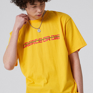 DRAGON EMBROIDERED T-SHIRT_YELLOW