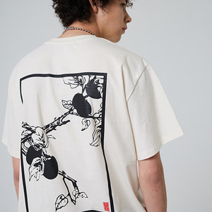 PERSIMMON TREE T-SHIRT_IVORY