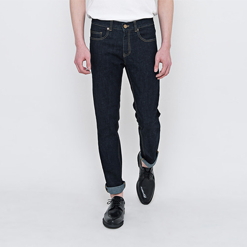 DEN raw denim.
