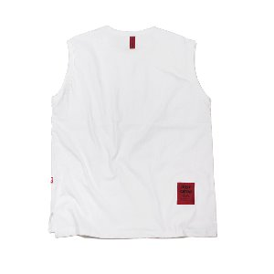 OVERFIT ORIGINAL SLEEVELESS WHITE
