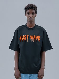 19SS JUST WAVE T_SHIRTS [black]