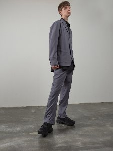 19FW BELTED PANTS [GREY]