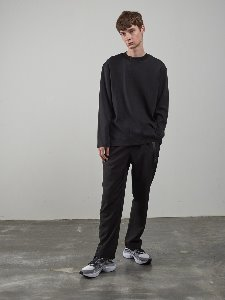 19FW BELTED PANTS [BLACK]
