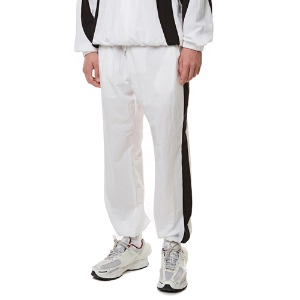 Curve training Zip-up Pants WHITE