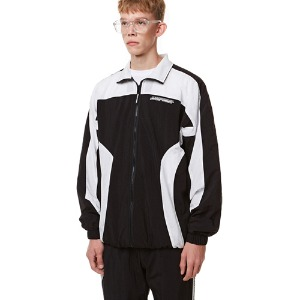 Curve training Zip-up Top BLACK