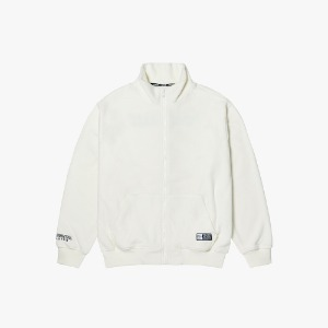 FLEECE ZIP-UP JACKET [OFF WHITE]