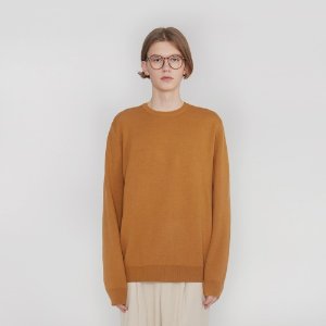 Double Weave Round Knit_Brick