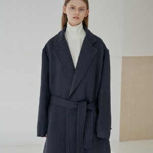 [트립르센스] 19FW LE ROBE COAT_NAVY